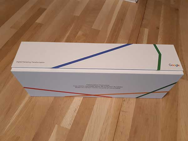 Boîte imprimée Google